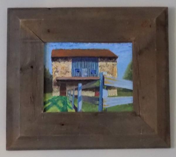 Blue Fence Barn (St. Matthews) (Black Horse Rd.)
