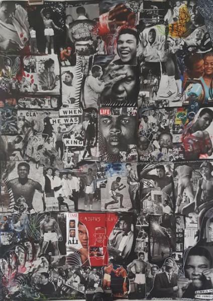 Muhammad Ali- Life Collage