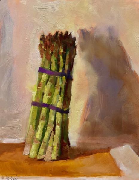 Asparagus Standing Tall