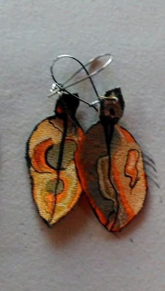 Pohutukawa Leaf Earrings 165
