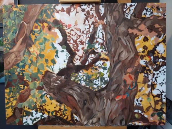 Prayer Tree Work in Progress