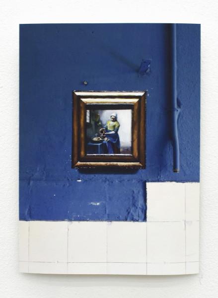 """Johannes Vermeer. """"The milkmaid"""""""
