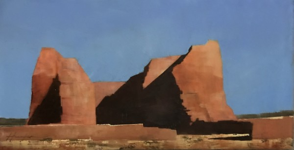 Pecos, Encaustic Study