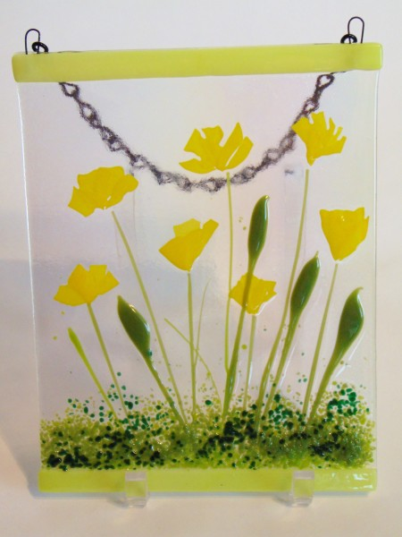 Garden Hanger-Yellow Poppies