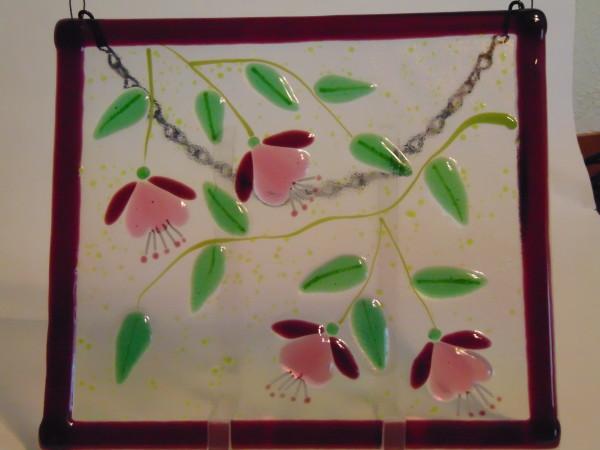 Garden Hanger-Four Fuschias