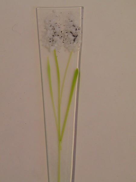 Plant Stake-White Delphiniums