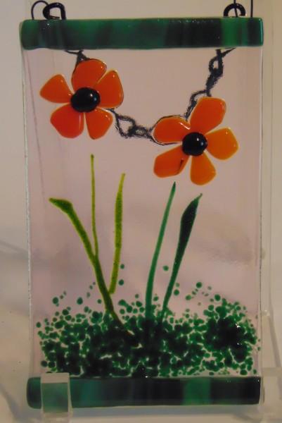 Garden Hanger-Orange Daisies