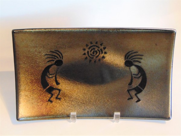 Kokopelli Serving Plate