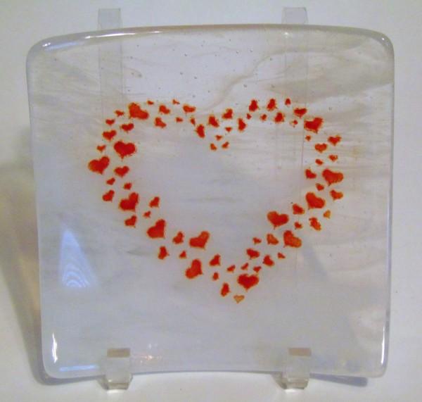 Heart Sushi Plate