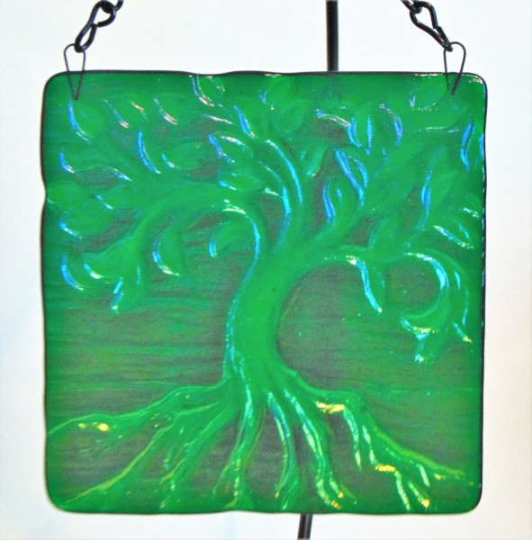 Tree of Life Hanger-Small, Green