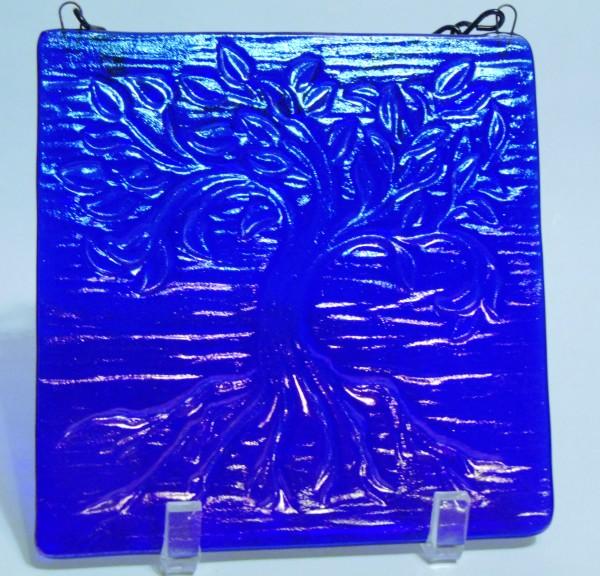Garden Hanger, Small-Cobalt Irid