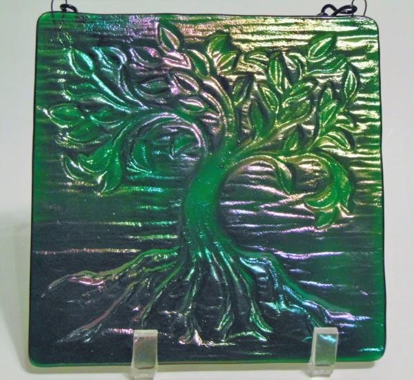 Garden Hanger, Small-Emerald Irid