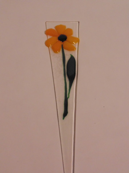 Plant Stake: Yellow Daisy