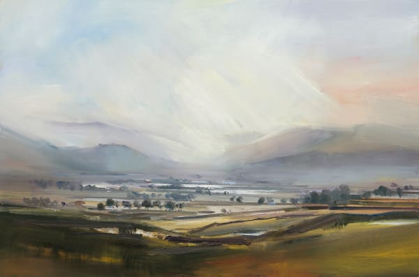 4. Morning Light Across the Derwent Valley. Lake District