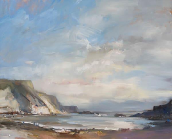 October Man O War Beach. Dorset