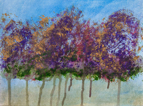 Tree Series Blue 1