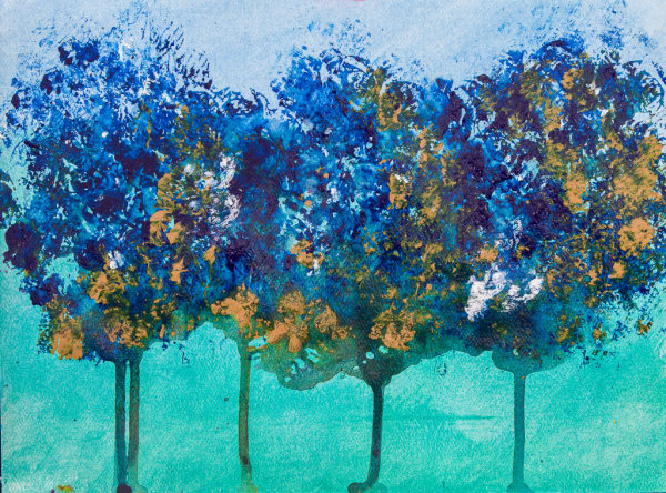 Tree Series Blue 2