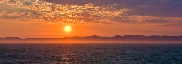 Vancouver Island Ferry Sunset