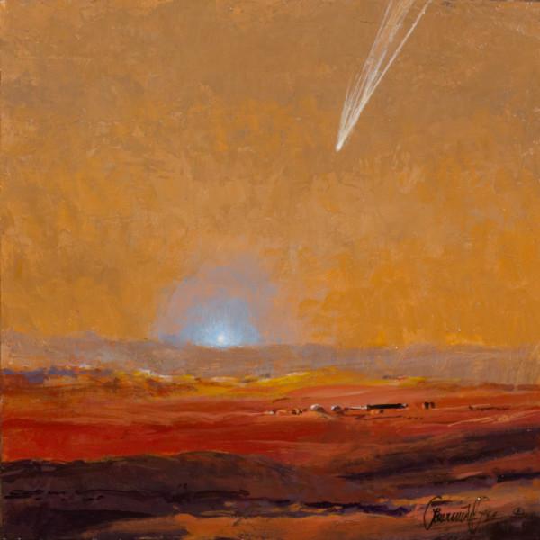 Mars Base Sunrise