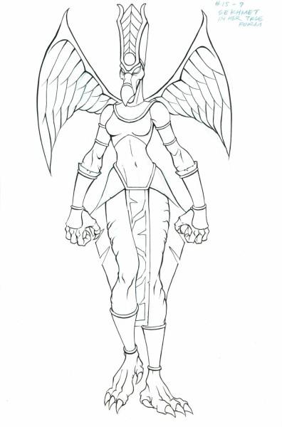 Mummies Alive - Character Model - Sekhmet