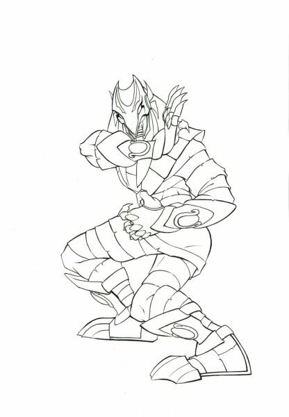 Mummies Alive - Character Model - Ja-Kal Action Pose