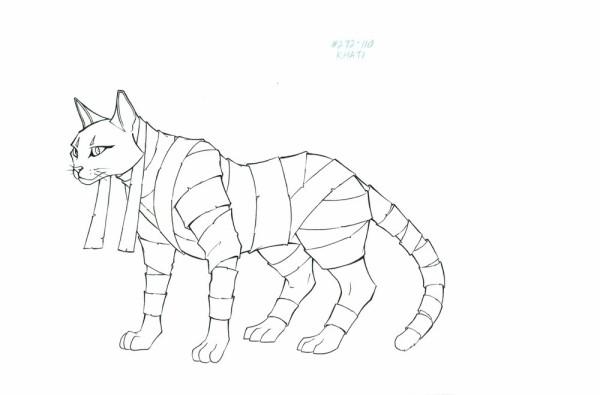 Mummies Alive - Character Model - Kahti