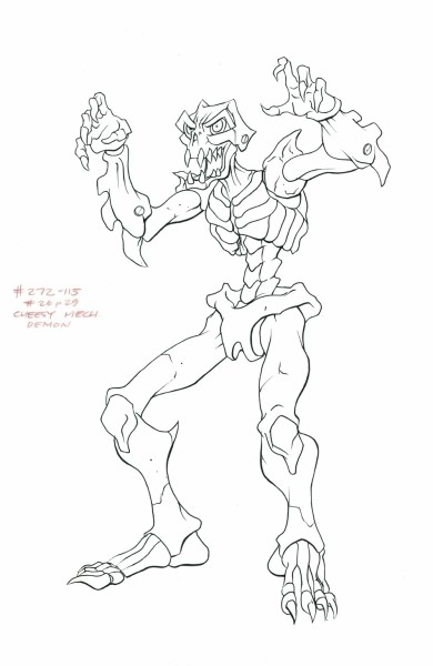 Mummies Alive - Character Model - Cheesy Mech Demon