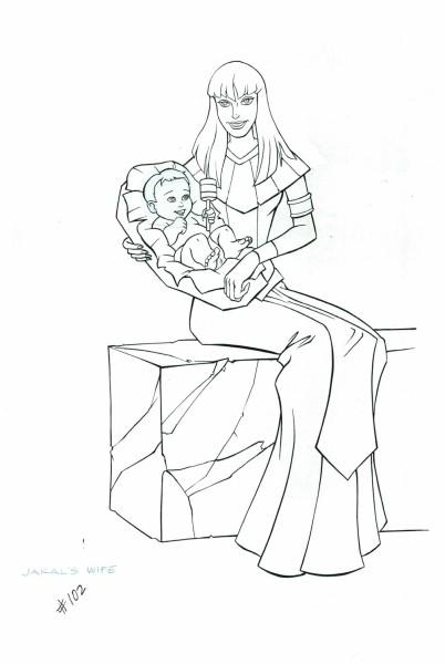 Mummies Alive - Character Model - Ja-Kal's Wife