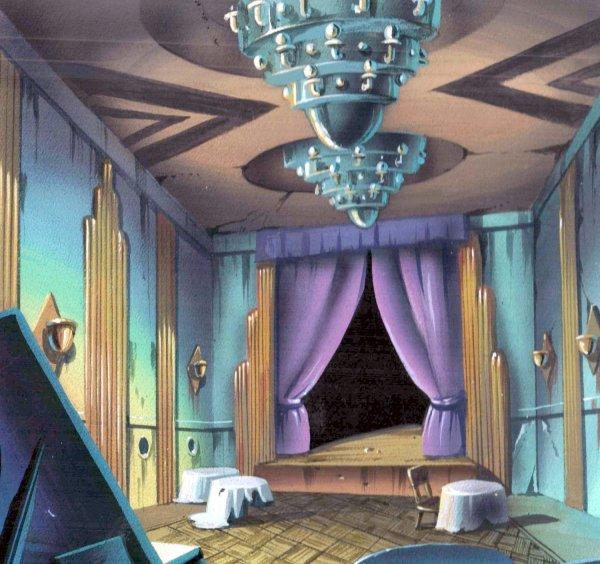 TMNT - Background Concept - Ballroom