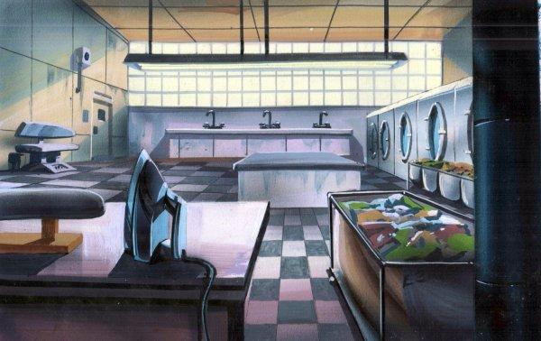 TMNT - Background Concept - Prison Laundry