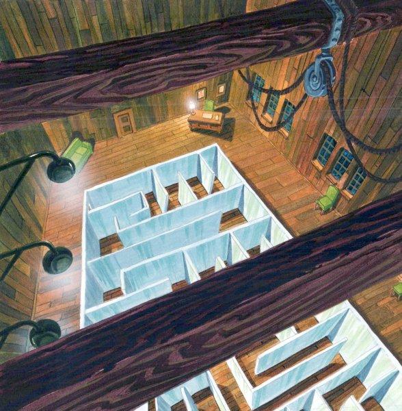 TMNT - Background Concept - Rat Maze