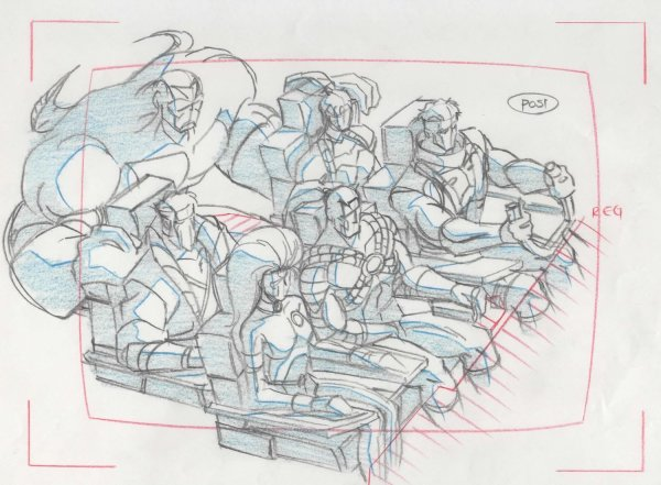 WildC.A.T.s - Rough Layout Drawing - Team