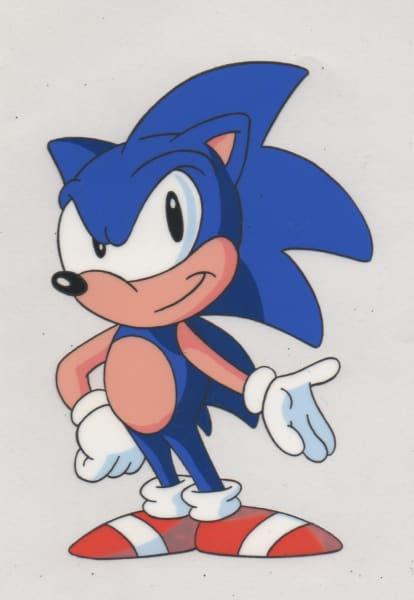 Sonic SatAM - Model Cel - Sonic