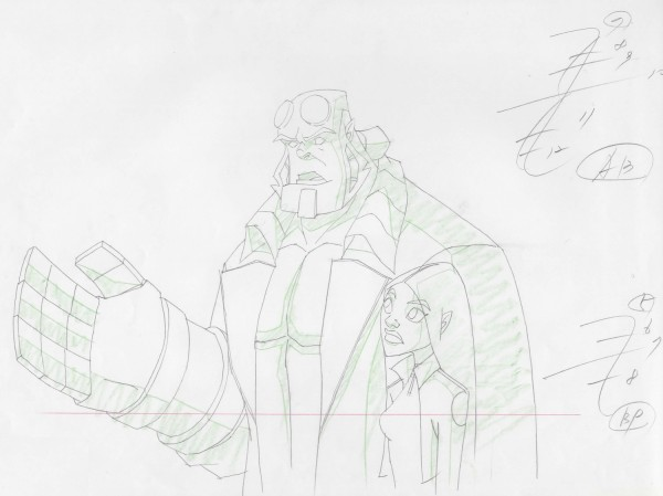 Hellboy - Layout Drawing