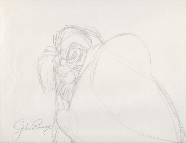 The Secret of NIMH - Rough Sketches - The Great Owl
