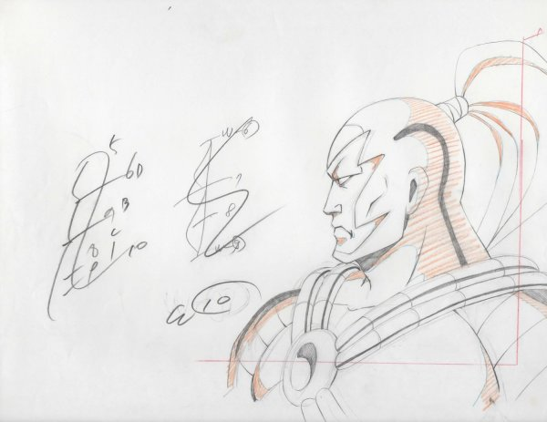 WildC.A.T.s - Production Drawing - Warblade