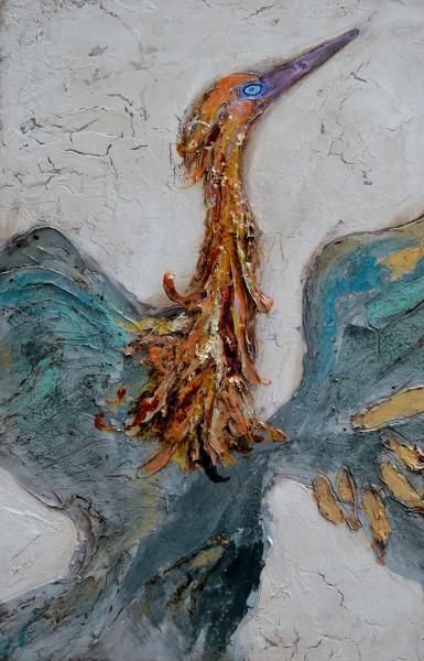 Reddish Egret Soaring