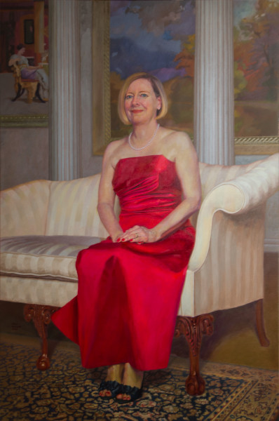 Wife of the Artist; The Honorable Deborah M. Paxson