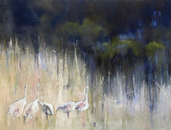 In the Deep Grasses (Framed Original)