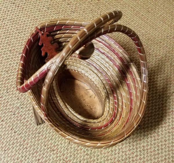 Oak Leaf Basket