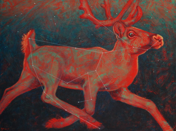 Radiant Reindeer (constellation Rangifer)