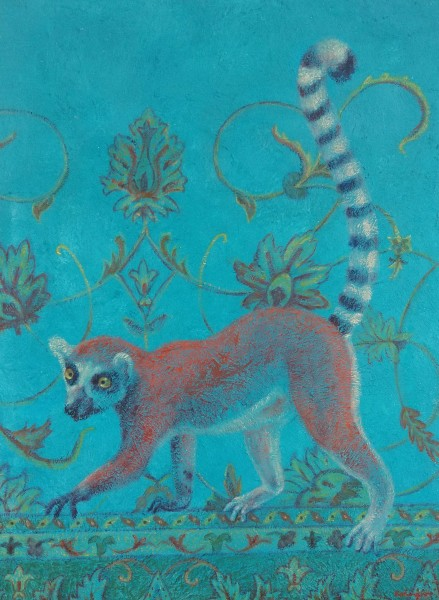 Lemur Lost in a Persian Jungle