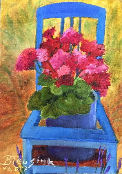 Seated in France (Study of Dreama Tolle Perry)