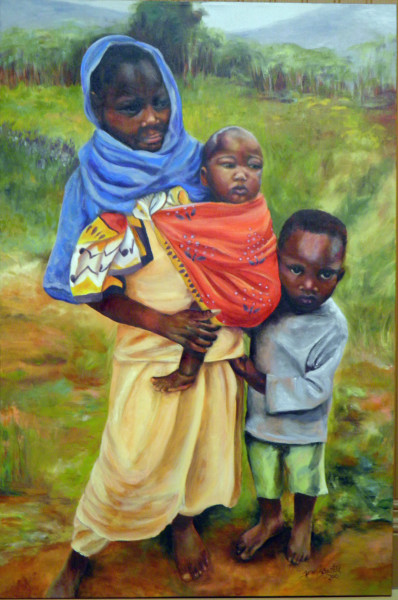 Encounter Along the Way - Sold