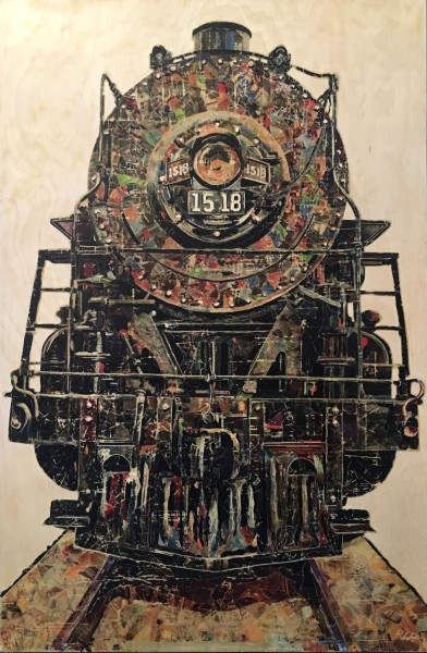 Untitled (Black Train)