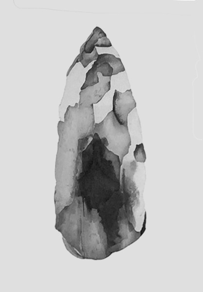 Stone Spear Tip, Worrorra, Vic Cox Collection