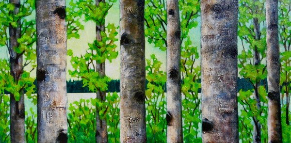 Summer Birches, #3