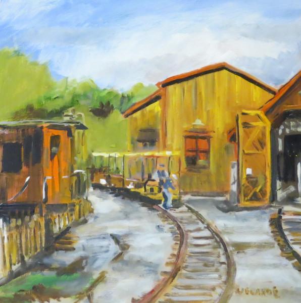 Old Poway Park Train Barn