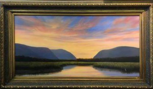 Sunset over Constitution Marsh
