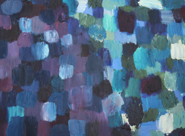 Series Painting LXXXIII: Blue to Purple